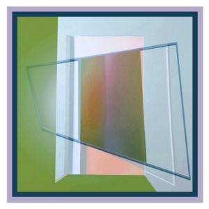 Flyer Gestaltung- Kollage Grafik geometrische Formen überlagern sich