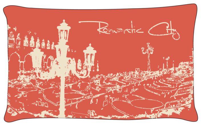 platzierter print Geschirrtuch Vintage Paris