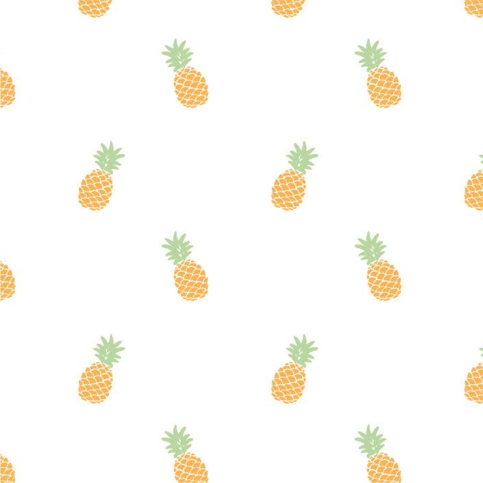 Allover kleine Ananas