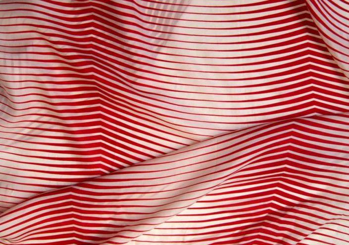 Photo Allover Grafische Streifen Rot Weiss