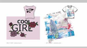 Modedesign Girls Print Cool Girls Print Boys Beach Palmen