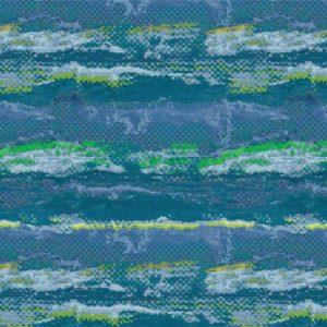 Hamburg Textildesign- Allover Badeshorts Wasserstruktur Rasterpixel