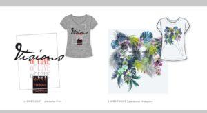 Modedesign Hamburg- Print Vision- Print Take me to Hawaii